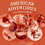 Cover-Bild zu American Adventures Pre-Intermediate: Class Audio CD von Wetz, Ben