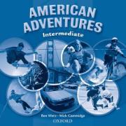 Cover-Bild zu American Adventures Intermediate: Class Audio CD von Wetz, Ben