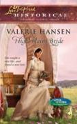 Cover-Bild zu Hansen, Valerie: High Plains Bride (Mills & Boon Love Inspired) (After the Storm: The Founding Years, Book 1) (eBook)