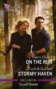 Cover-Bild zu Hansen, Valerie: Love Inspired Suspense Duo/On the Run/Stormy Haven (eBook)