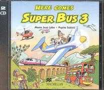Cover-Bild zu Level 3: Class CD - Here Comes Super Bus