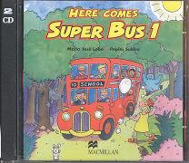 Cover-Bild zu Level 1: Audio CD - Here Comes Super Bus