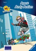 Cover-Bild zu Erstleser - leichter Lesen: Agent Andy Action von THILO
