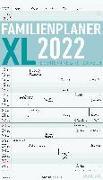 Cover-Bild zu Familienplaner XL 2022 mit 6 Spalten - Familien-Timer 26x45 cm - Offset-Papier - mit Ferienterminen - Wand-Planer - Familienkalender - Alpha Edition von ALPHA EDITION (Hrsg.)