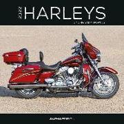 Cover-Bild zu Harleys 2022 - Broschürenkalender 30x30 cm (30x60 geöffnet) - Kalender mit Platz für Notizen - Motorräder - Bildkalender - Wandplaner - Alpha Edition von ALPHA EDITION (Hrsg.)