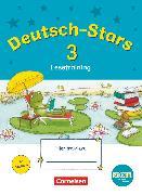 Cover-Bild zu Deutsch-Stars, BOOKii-Ausgabe, 3. Schuljahr, Lesetraining, Übungsheft, Mit Lösungen von Scholtes, Cornelia