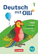 Cover-Bild zu Deutsch mit Olli, Erstlesen - Ausgabe 2021, 1. Schuljahr, Arbeitsheft Basis / Plus inkl. Grundschrift-Lehrgang, Teil A und B im Paket mit BOOKii-Funktion von Bergmann, Silke