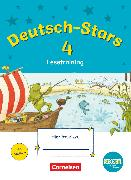 Cover-Bild zu Deutsch-Stars, BOOKii-Ausgabe, 4. Schuljahr, Lesetraining, Übungsheft, Mit Lösungen von Scholtes, Cornelia