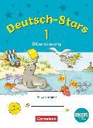 Cover-Bild zu Deutsch-Stars, BOOKii-Ausgabe, 1. Schuljahr, Silbentraining, Übungsheft, Mit Lösungen von Scholtes, Cornelia