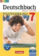 Cover-Bild zu Deutschbuch, Sprach- und Lesebuch, Zu allen erweiterten Ausgaben, 7. Schuljahr, Materialien für den inklusiven Unterricht für Lernende mit erhöhtem Förderbedarf, Kopiervorlagen mit CD-ROM von Faber, Gisela