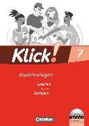 Cover-Bild zu Klick! Deutsch, Westliche Bundesländer, 7. Schuljahr, Sprechen, Lesen, Schreiben, Kopiervorlagen mit CD-ROM von Angel, Margret