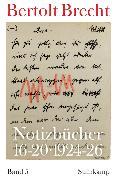 Cover-Bild zu Brecht, Bertolt: Notizbücher 16-20