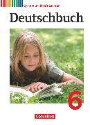 Cover-Bild zu Deutschbuch Gymnasium, Niedersachsen, 6. Schuljahr, Schülerbuch von Brenner, Gerd