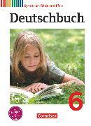Cover-Bild zu Deutschbuch Gymnasium, Rheinland-Pfalz, 6. Schuljahr, Schülerbuch von Brenner, Gerd
