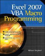 Cover-Bild zu Shepherd, Richard: Excel 2007 VBA Macro Programming