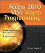 Cover-Bild zu Shepherd, Richard: Microsoft Access 2010 VBA Macro Programming (eBook)