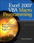 Cover-Bild zu Shepherd, Richard: Excel 2007 VBA Macro Programming (eBook)