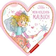 Cover-Bild zu Finsterbusch, Monika (Illustr.): Prinzessin Lillifee: Mein Herzchen-Malbuch