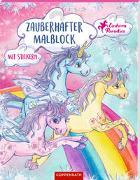 Cover-Bild zu Finsterbusch, Monika (Illustr.): Zauberhafter Malblock