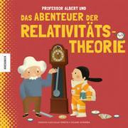 Cover-Bild zu Kaid-Salah Ferrón, Sheddad: Professor Albert und das Abenteuer der Relativitätstheorie