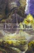 Cover-Bild zu Carr, Emily: This and That: The Lost Stories of Emily Carr
