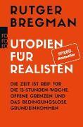 Cover-Bild zu Bregman, Rutger: Utopien für Realisten (eBook)