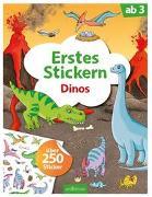 Cover-Bild zu Coenen, Sebastian (Illustr.): Erstes Stickern Dinos