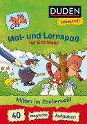 Cover-Bild zu Nahrgang, Frauke: Duden Leseprofi - Mal- und Lernspaß für Erstleser. Mitten im Zauberwald