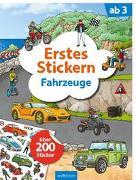 Cover-Bild zu Coenen, Sebastian (Illustr.): Erstes Stickern Fahrzeuge