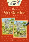 Cover-Bild zu Coenen, Sebastian (Illustr.): Die verflixten Sieben - Mein Fehler-Such-Buch - Tiere