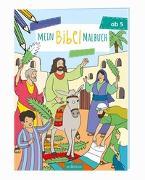 Cover-Bild zu Coenen, Sebastian (Illustr.): Mein Bibel-Malbuch