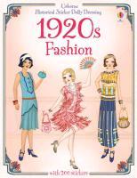 Cover-Bild zu Bone, Emily: Historical Sticker Dolly Dressing: 1920s Fashion