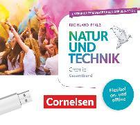 Cover-Bild zu Natur und Technik - Chemie Neubearbeitung, Rheinland-Pfalz, Gesamtband, Unterrichtsmanager Plus auf USB-Stick, Inkl. E-Book als Zugabe und Begleitmaterialien