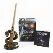 Cover-Bild zu Press, Running: Harry Potter Voldemort's Wand with Sticker Kit