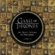 Cover-Bild zu Press, Running: Game of Thrones: The Noble Houses of Westeros