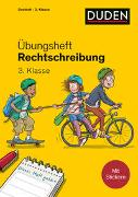 Cover-Bild zu Holzwarth-Raether, Ulrike: Duden Übungsheft - Rechtschreibung 3.Klasse