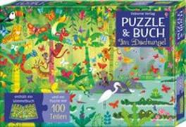Cover-Bild zu Robson, Kirsteen: Puzzle & Buch: Im Dschungel