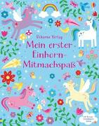 Cover-Bild zu Robson, Kirsteen: Mein erster Einhorn-Mitmachspaß