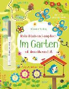 Cover-Bild zu Robson, Kirsteen: Mein Wisch-und-weg-Buch: Im Garten