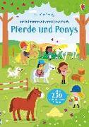 Cover-Bild zu Robson, Kirsteen: Mein Immer-wieder-Stickerbuch: Pferde und Ponys