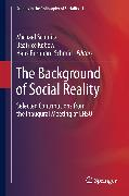 Cover-Bild zu Kobow, Beatrice (Hrsg.): The Background of Social Reality (eBook)