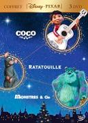Cover-Bild zu Unkirch, Lee (Reg.): Coco & Ratatouille & Monstres & Cie