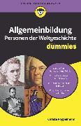 Cover-Bild zu Pöppelmann, Christa: Allgemeinbildung Personen der Weltgeschichte für Dummies (eBook)