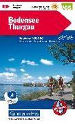 Cover-Bild zu Hallwag Kümmerly+Frey AG (Hrsg.): Bodensee, Thurgau Velokarte Nr. 2. 1:60'000