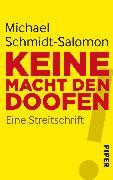 Cover-Bild zu Schmidt-Salomon, Michael: Keine Macht den Doofen (eBook)