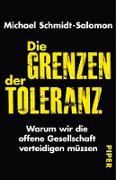 Cover-Bild zu Schmidt-Salomon, Michael: Die Grenzen der Toleranz (eBook)