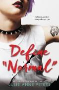 """Cover-Bild zu Peters, Julie Anne: Define """"Normal"""" (eBook)"""