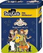 Cover-Bild zu Auer, Margit: Story Cards Die Schule der magischen Tiere - Dreimal schwarzer Kater