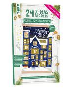 Cover-Bild zu frechverlag: 24 X-MAS SECRETS - Rubbel-Adventskalender - Leuchtende Weihnachtsfenster