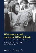 Cover-Bild zu Renz, Werner (Beitr.): NS-Prozesse und deutsche Öffentlichkeit (eBook)
